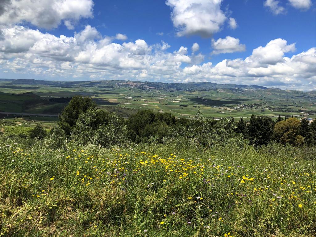 Landschaft in Westsizilien nahe Santa Ninfa