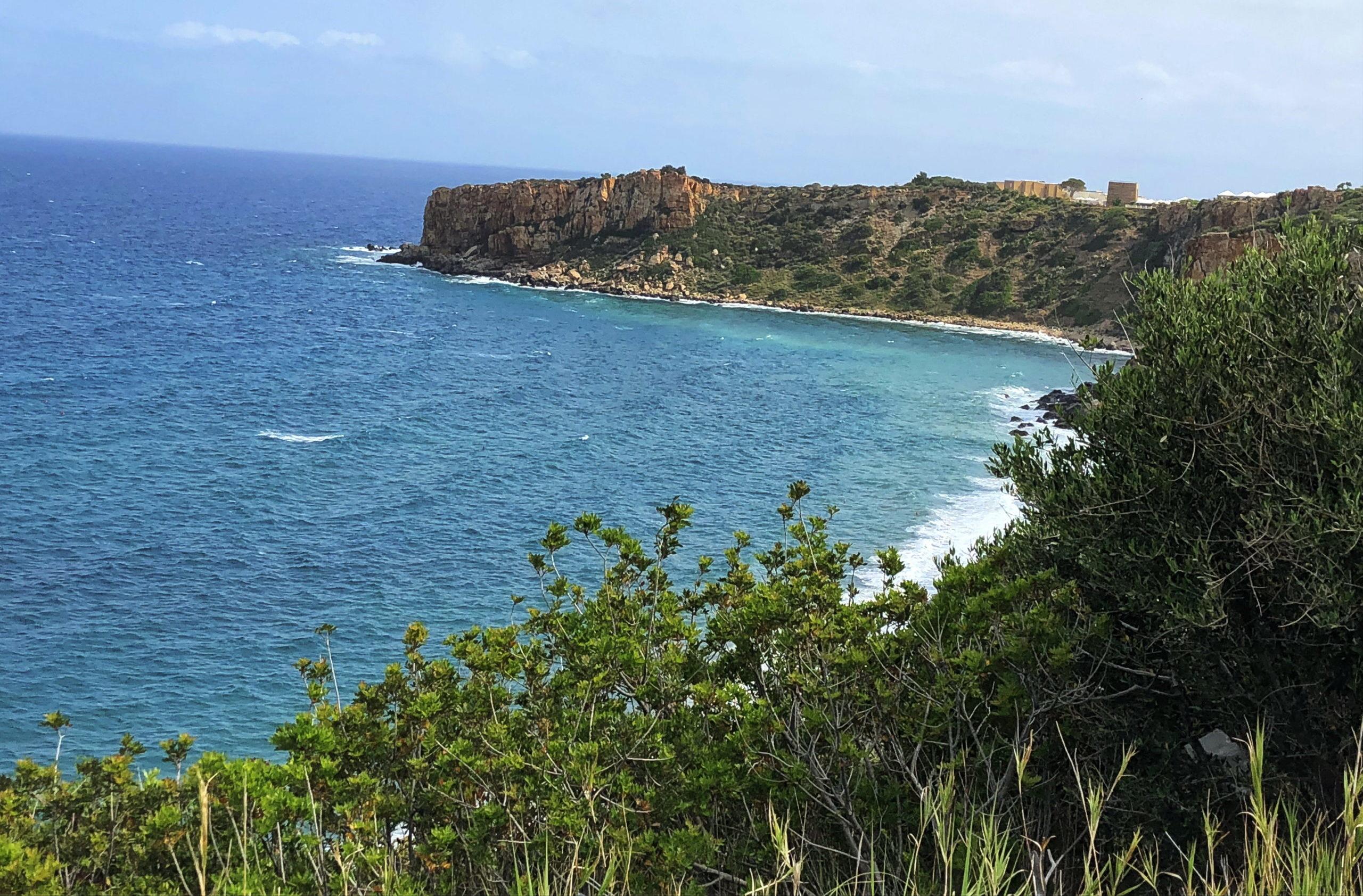 Tyrrhenisches Meer ca. 10 km östlich hinter Cefalù