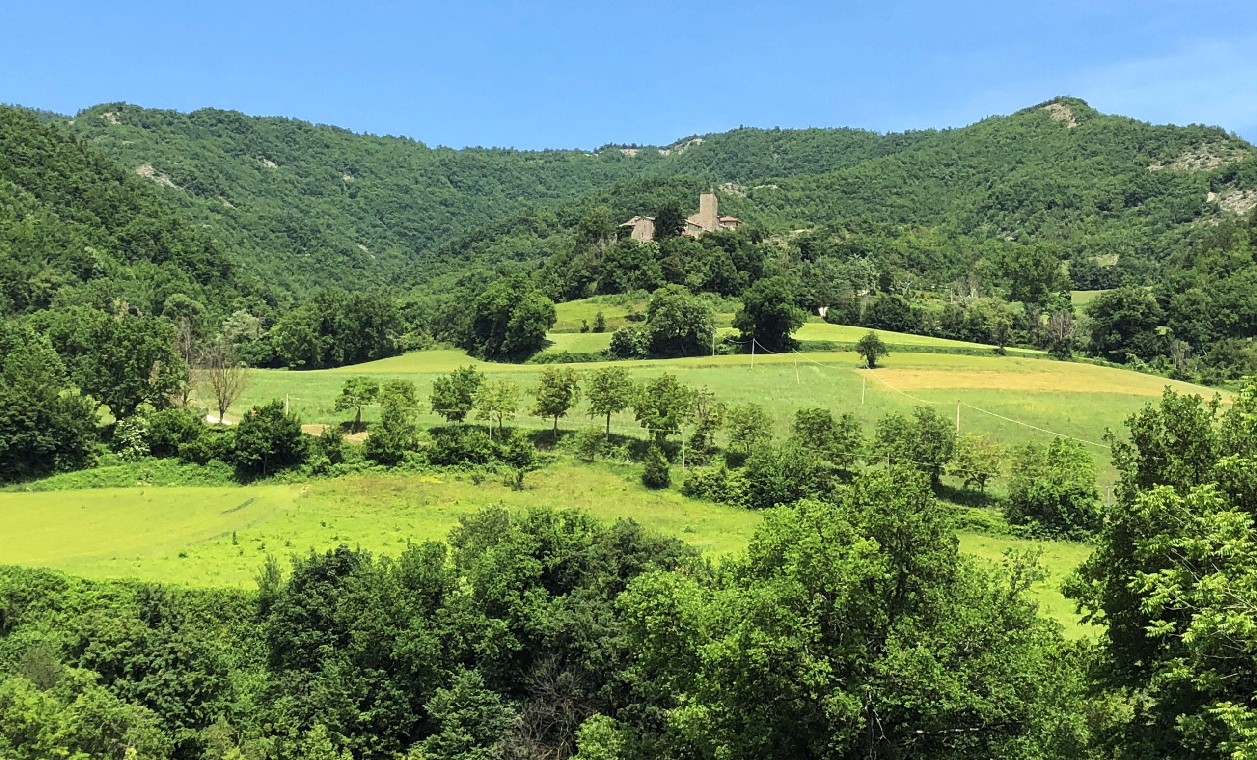 Kleines Castel bei Borgo Pace
