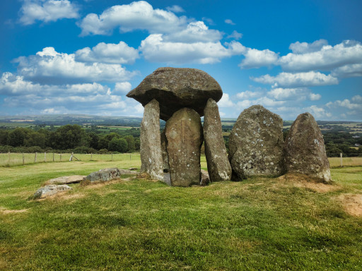 Steingrab Pentre Ifan Burial Chamber