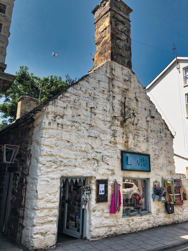 Eins der ältesten Häuser in Barmouth