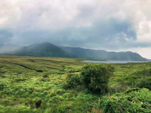 Sicht auf Achill Island