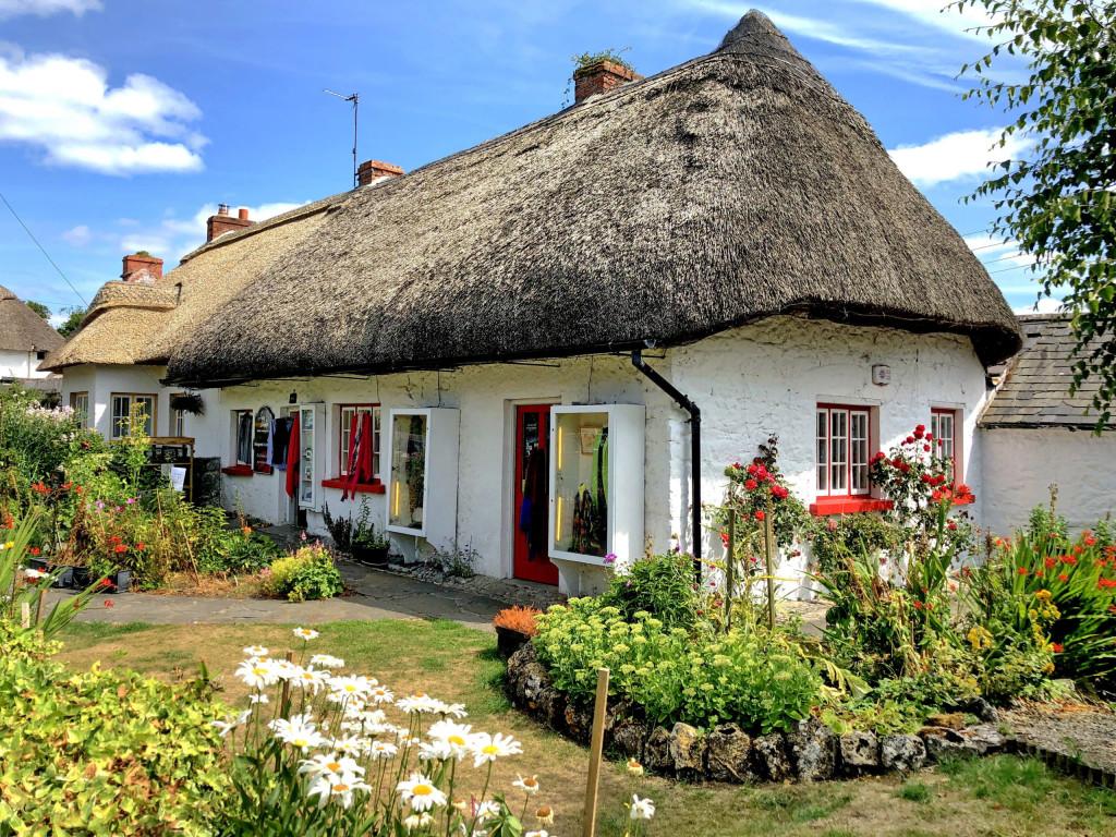 Ein für Adare typisches Cottage