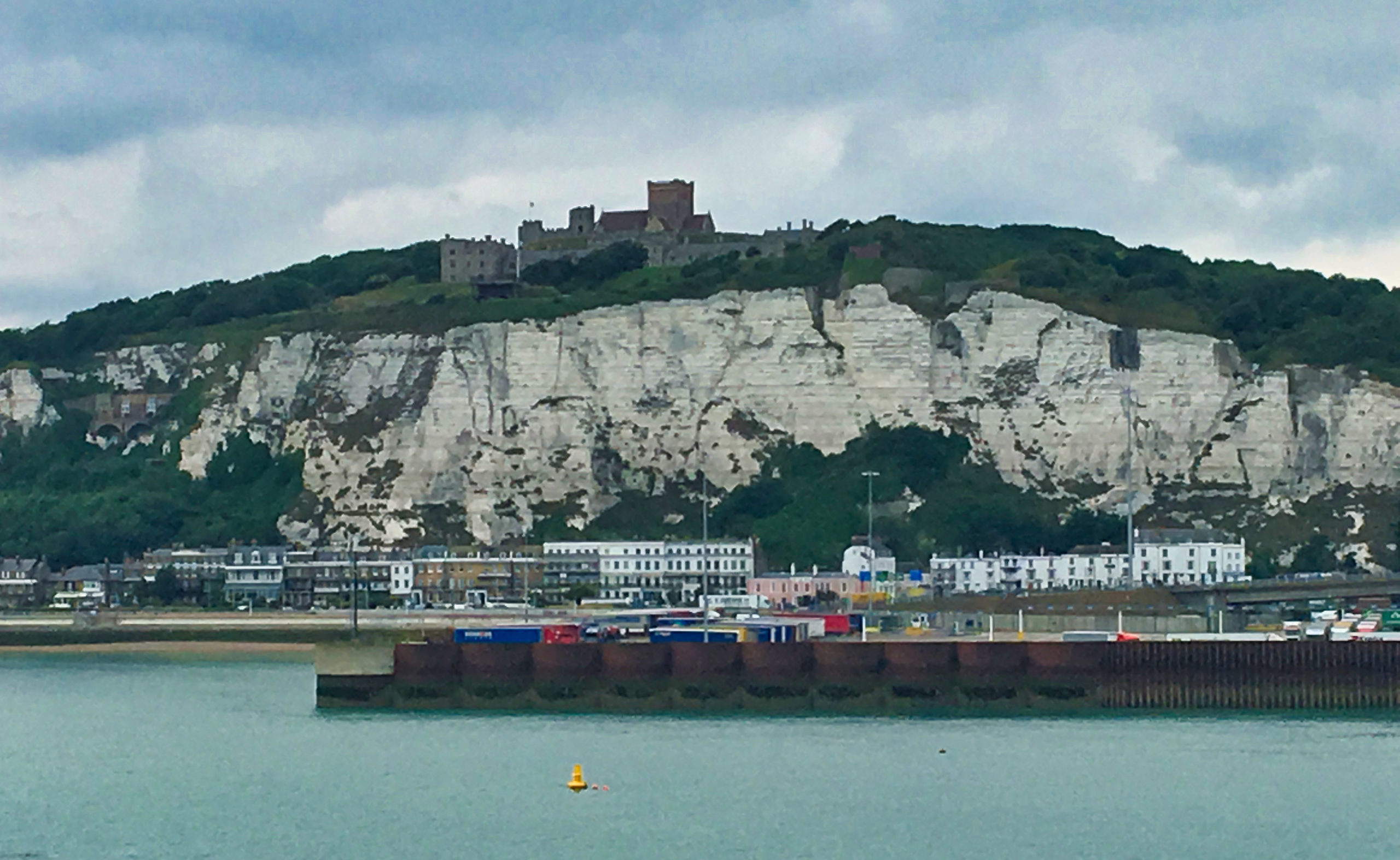 Dover mit Hafen und Castle
