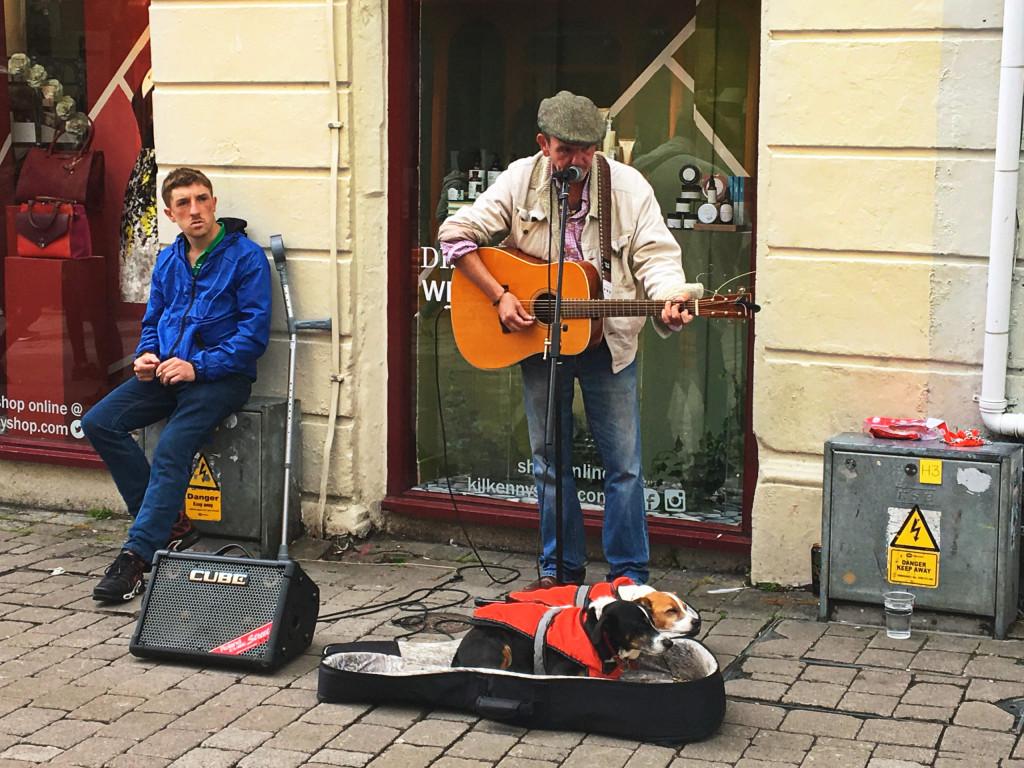 Gitarrenspieler in Galway