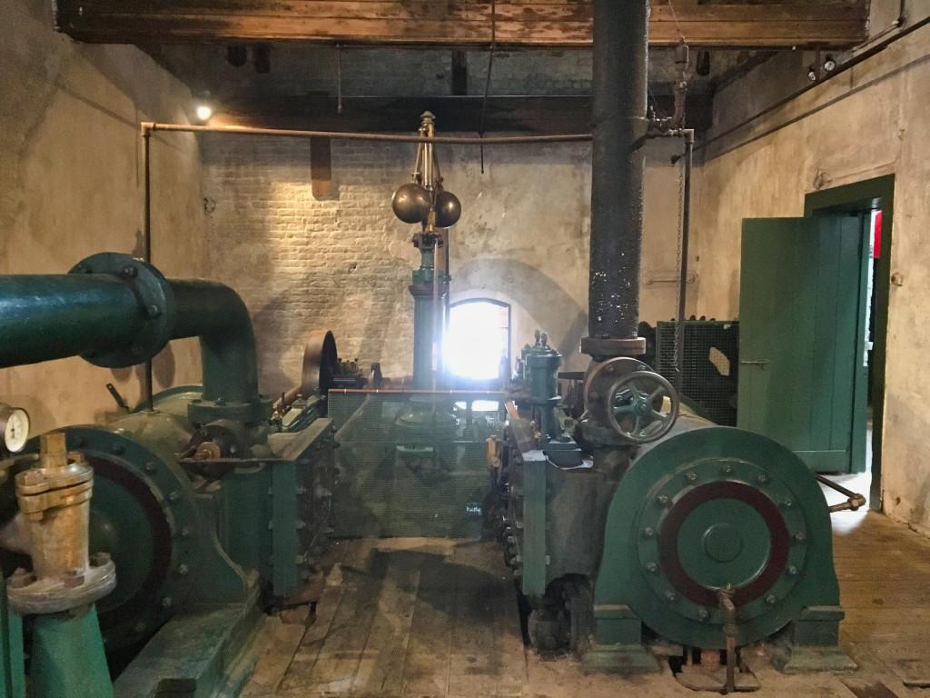 Dampfmaschine Kilbeggan Distillery