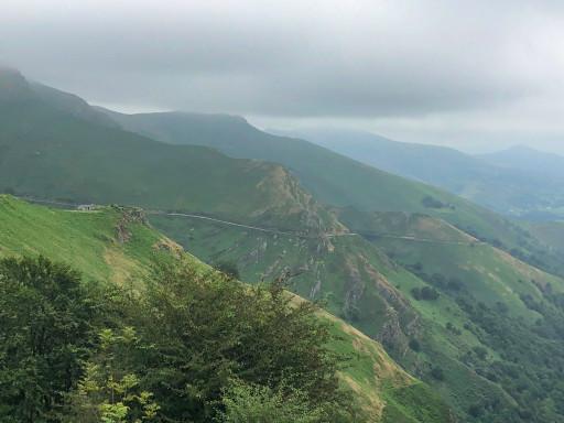 Grenzregion Alto De Izpegi in den Pyrenäen