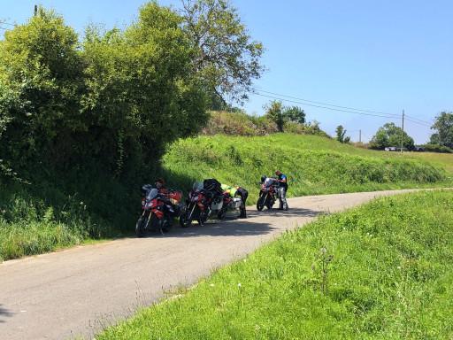 Pause auf dem Weg nach Burgos