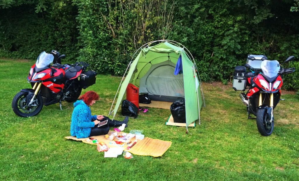Camping Everstein am Fluss Lek bei Utrecht