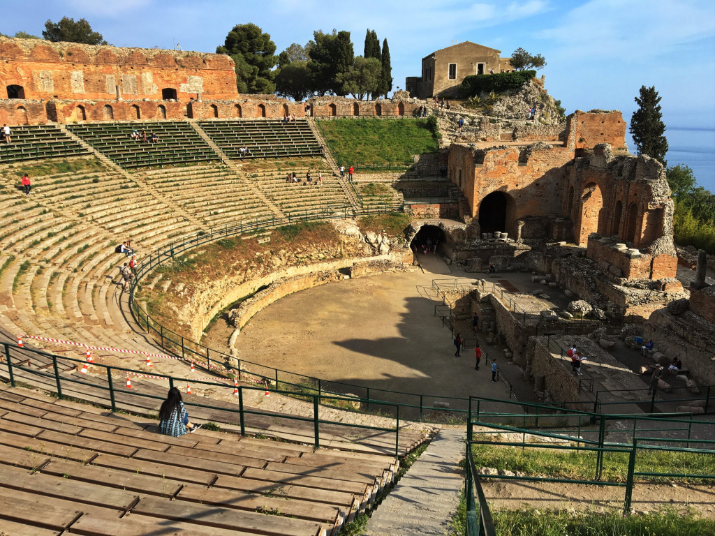Griechisches Theater (Teatro Greco) in Taormina