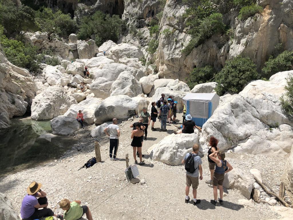 Zugang zur Gola di Gorrapu