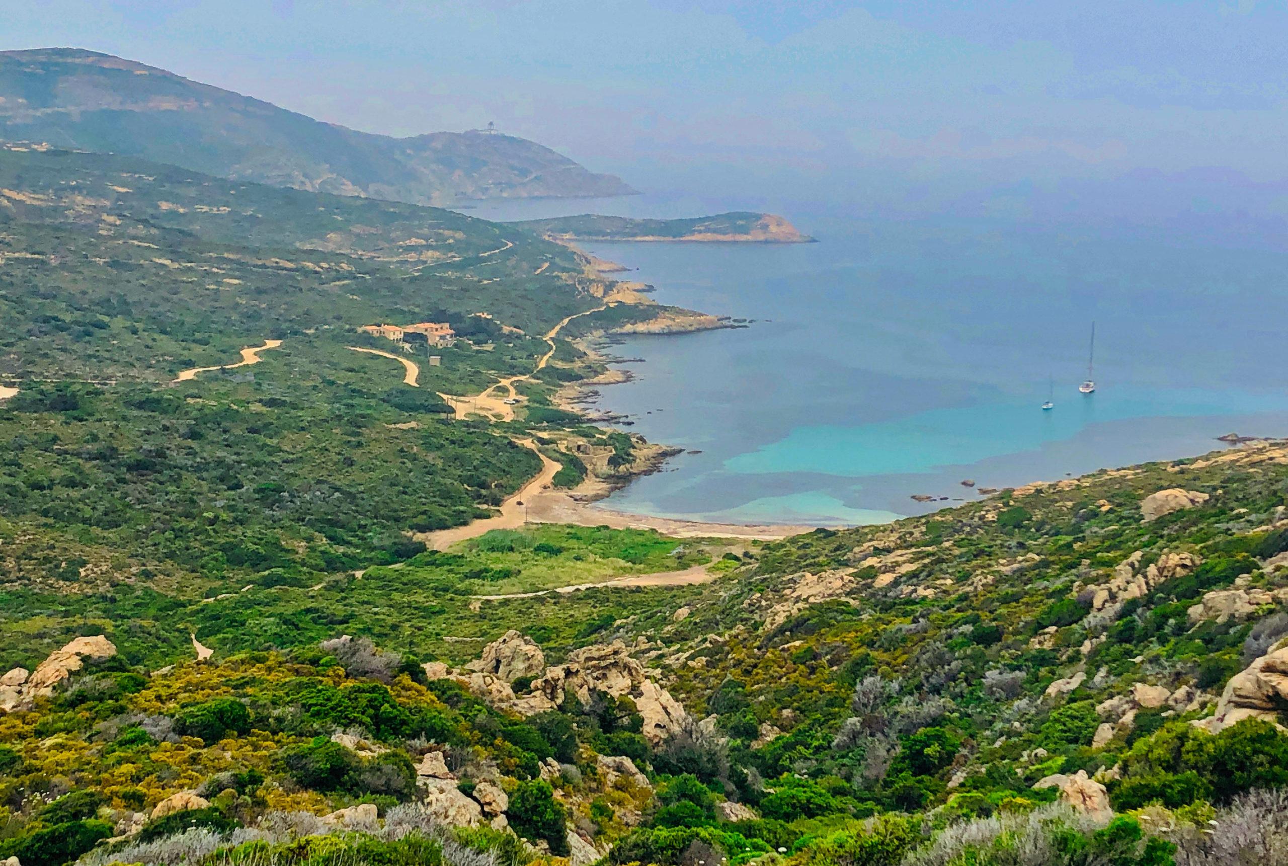 Westküste auf der D81b nach Calvi