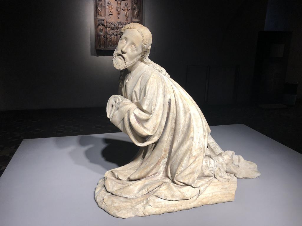 "Skulptur ""Jesus im Gebet"""