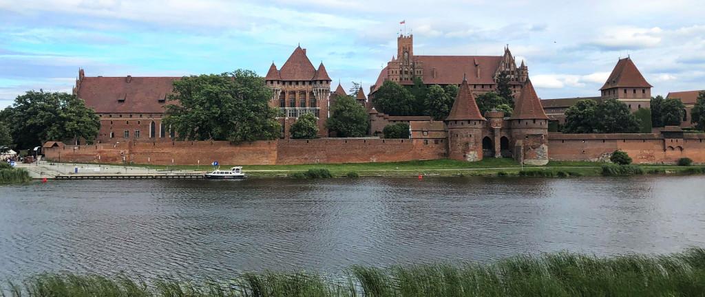 Die Marienburg an der Nogat