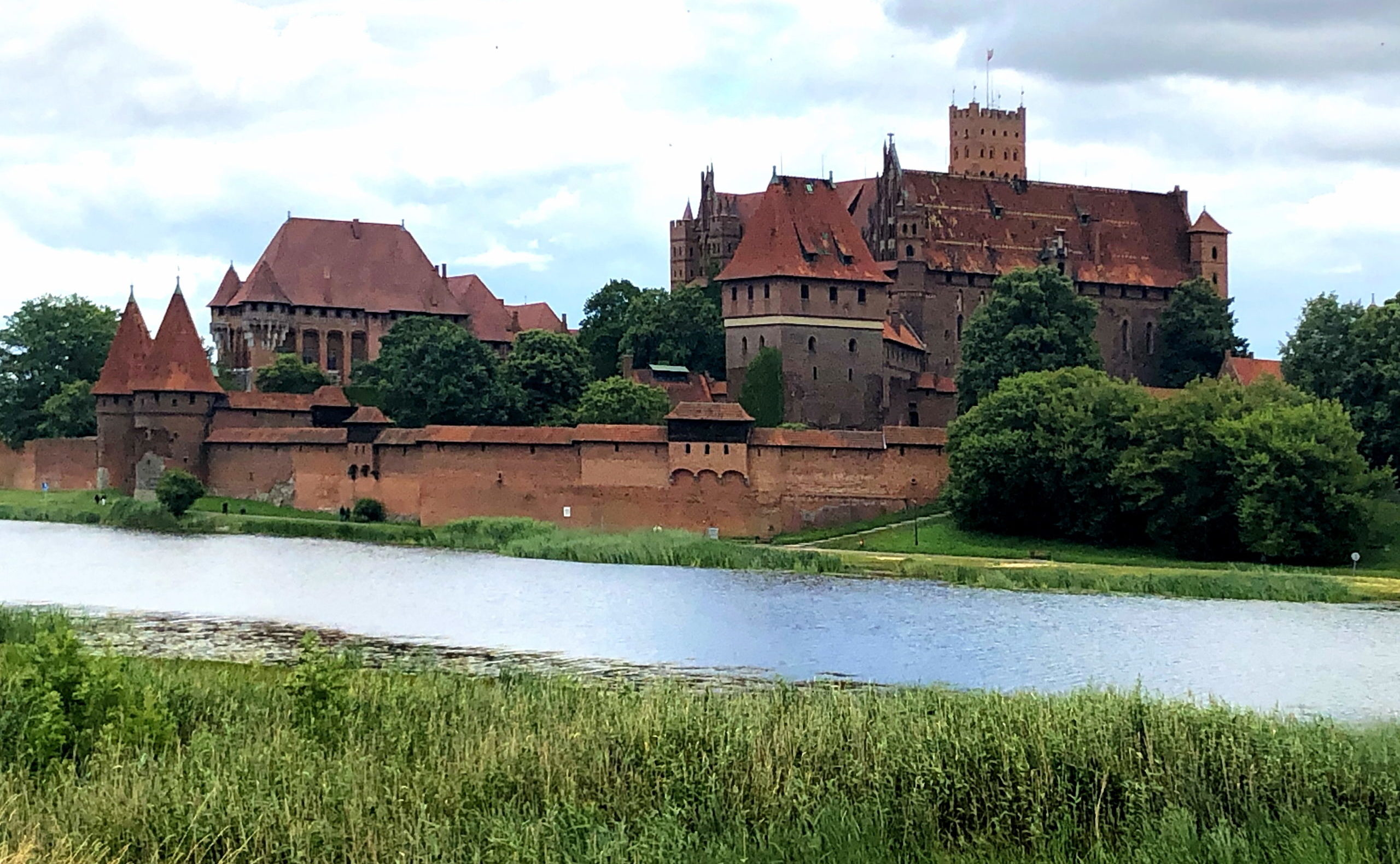 Westansicht der Marienburg