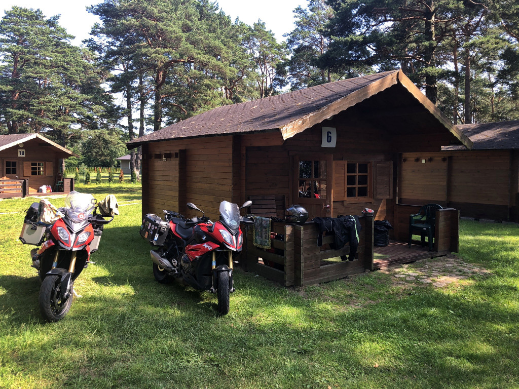Unsere Hütte in Toila