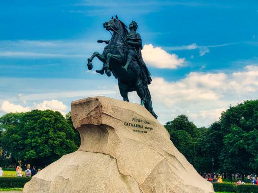 Eherner Reiter - Denkmal Peters des Großen