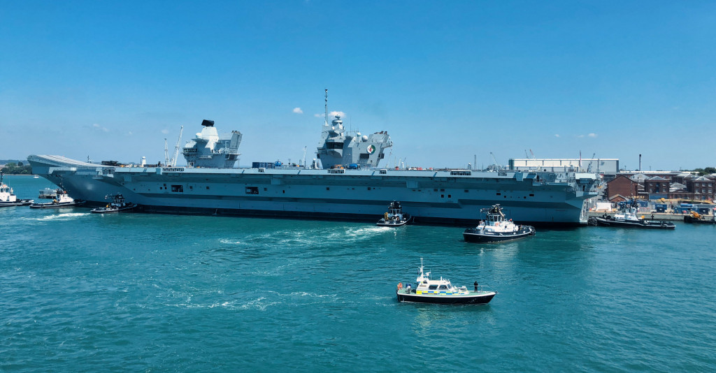 """Britanniens Stolz – der Flugzeugträger """"Queen Elizabeth"""""""