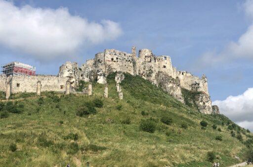 Blick auf die Zipser Burg