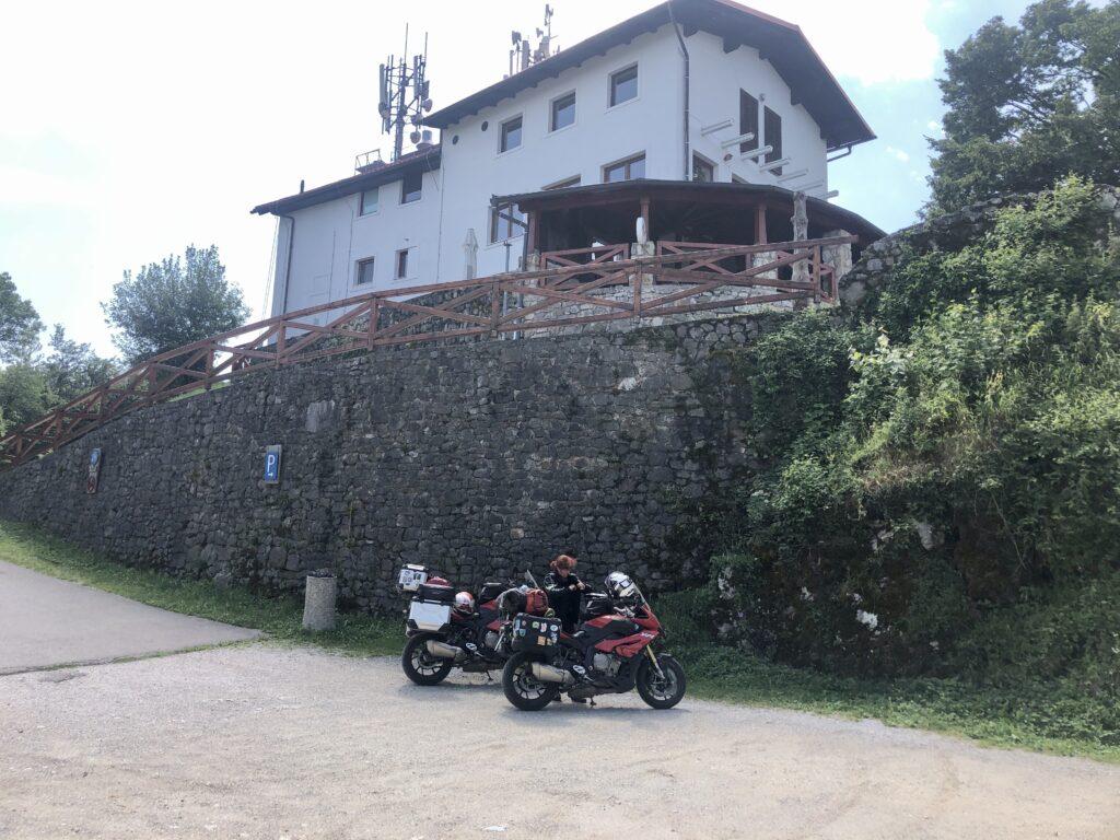 Kamniks historischen Siedlungsreste