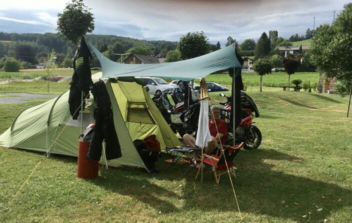 Trcokenzeit am Ölspur Camping in Eibiswald