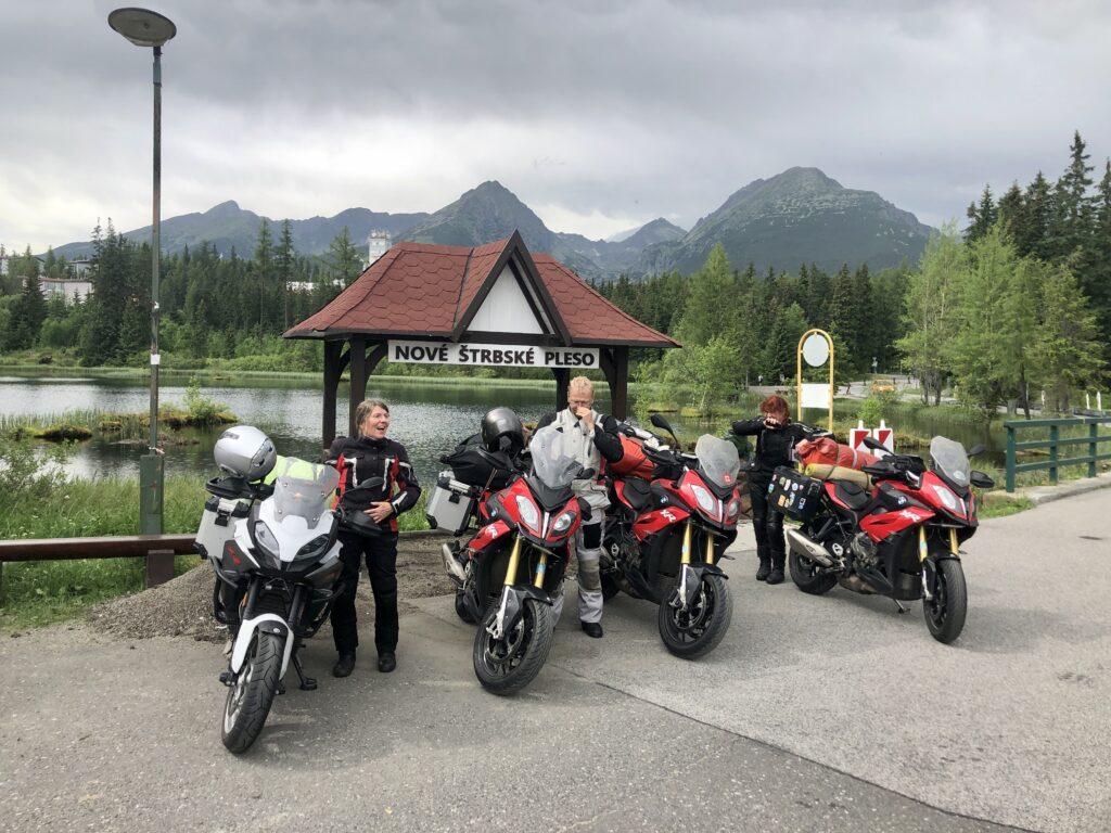 Der zweite Pass mit Blick auf das Tatra-Gebirge