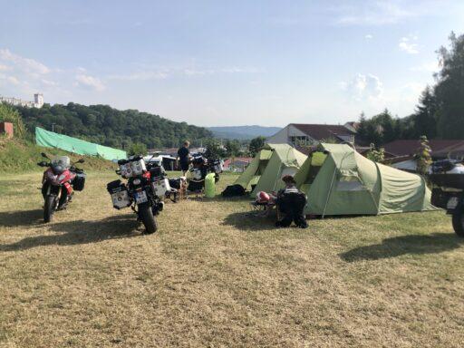 Zeltlager auf CP in Bojkovice