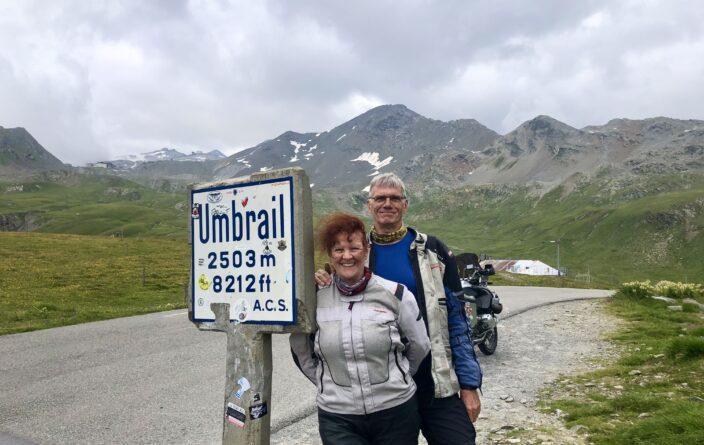 Über den Umbrail führt die höchste Passstrasse der Schweiz