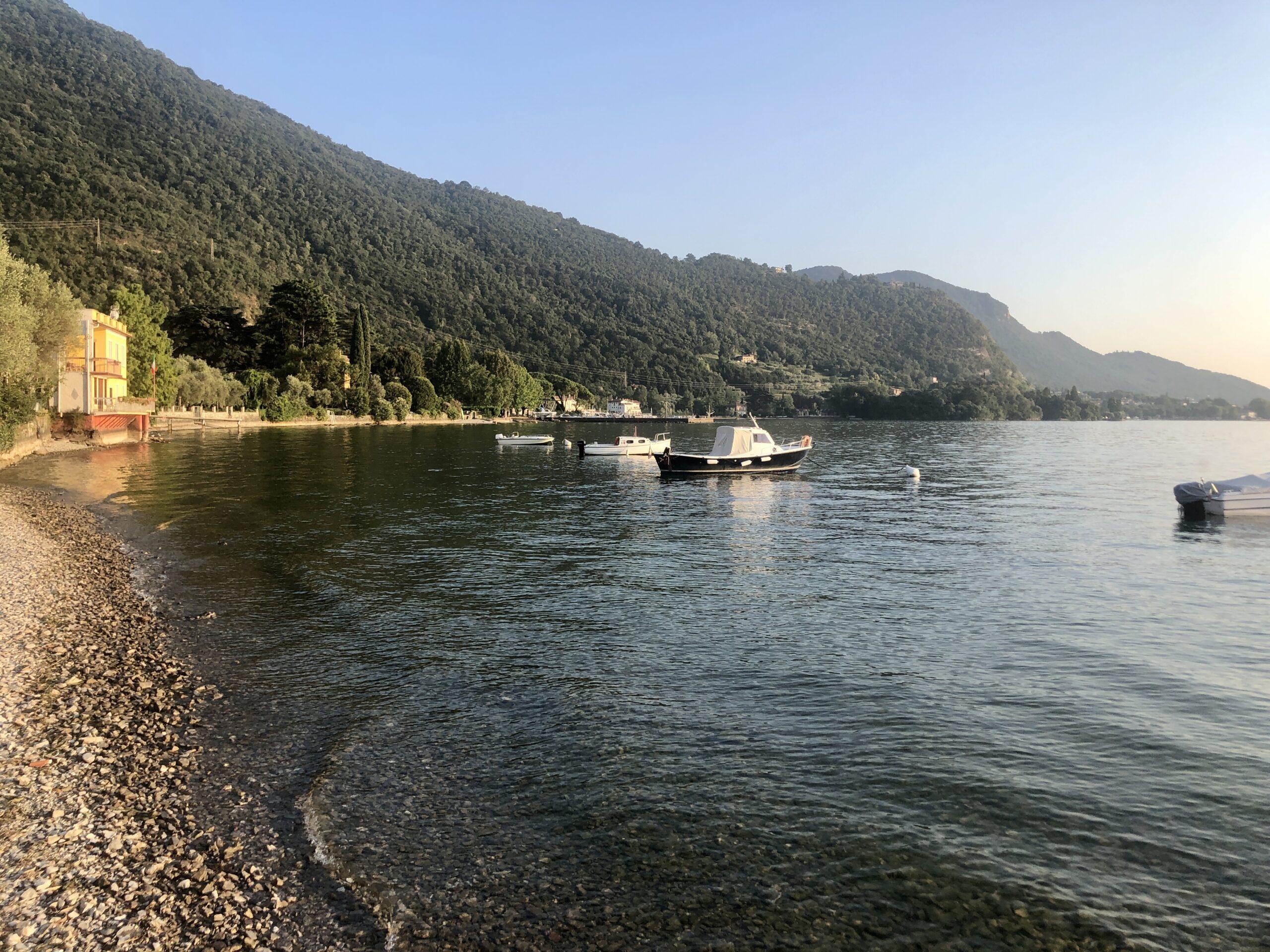 Lago d' Iseo vom CP
