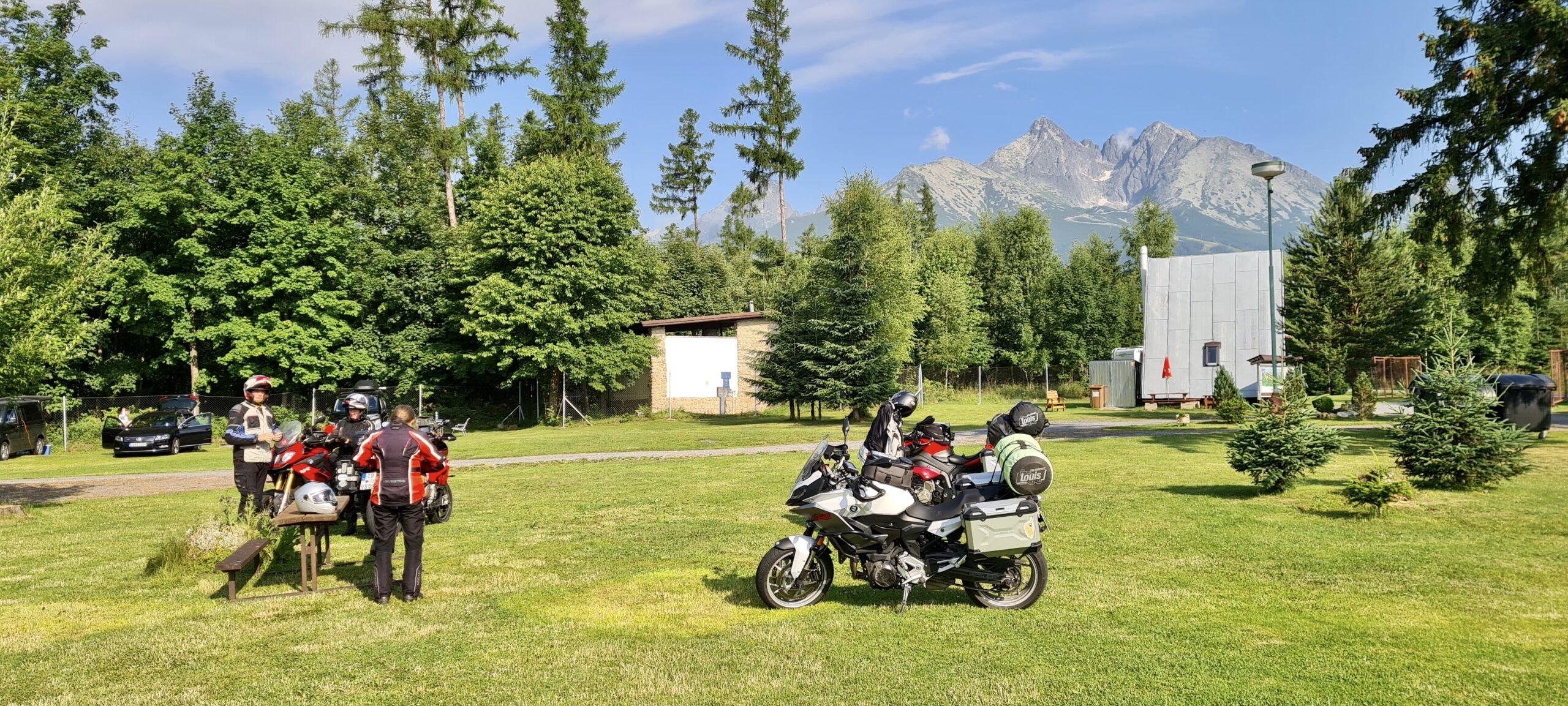 Abschlussblick auf die Tatra vom CP