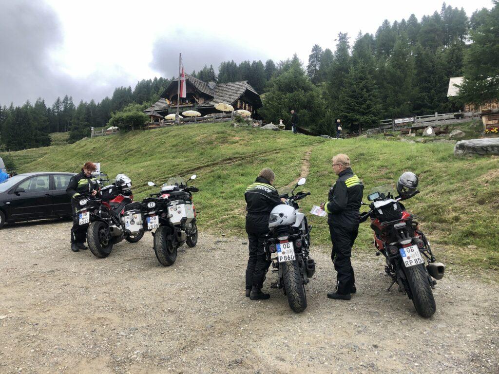 Schöner Zielpunkt: Die Lammersdorfer Hütte