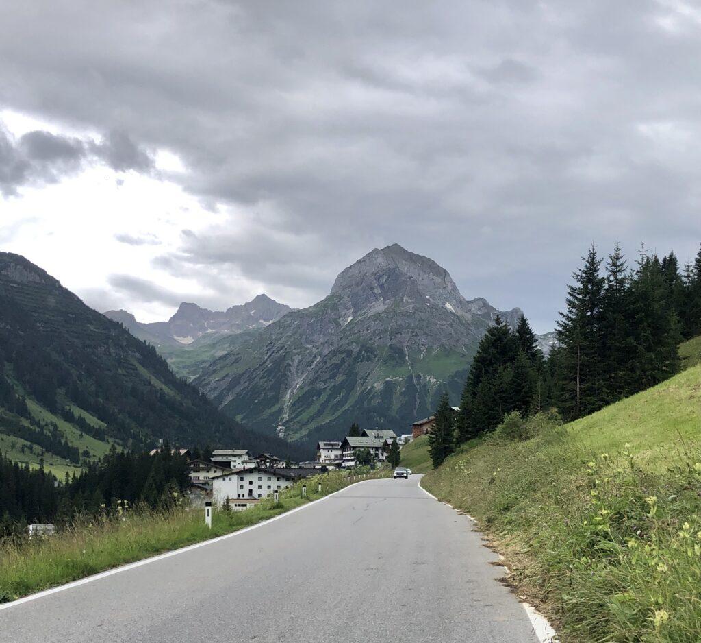 Lechtaler Alpen Richtung St. Anton