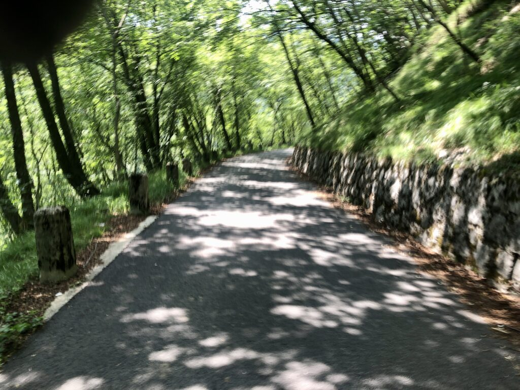 Anfahrt zum Sella Chiampion