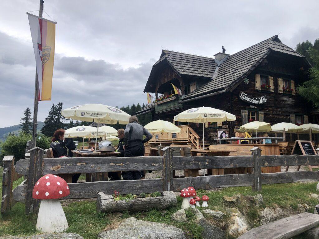 Die Lammersdorfer Hütte