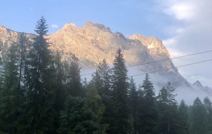 Schöne Aussichten in Cortina d'Ampezzo