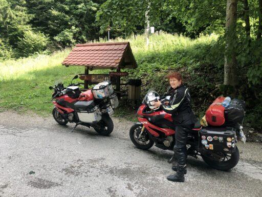 Der Lipa-Pass in den Steiner Alpen, westlich von Celje