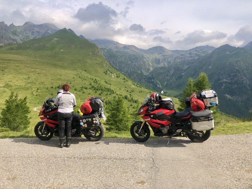 Angekommen am Col Carette di Val Bighera (2130 m)
