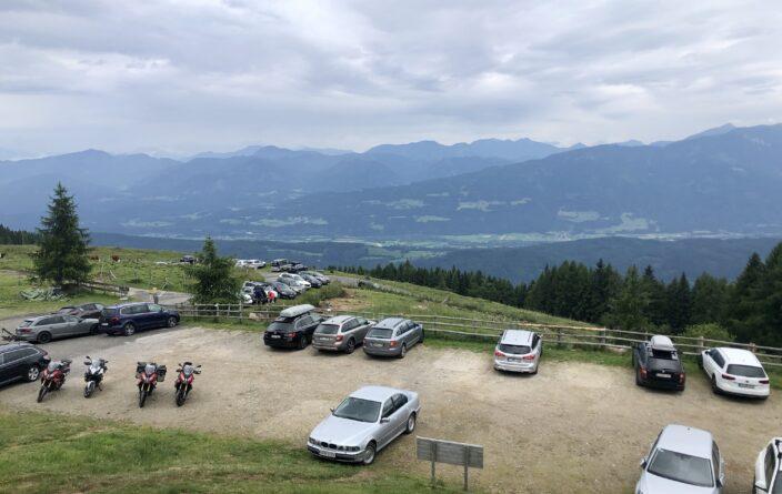 Ausblick von der Lammersdorfer Hütte