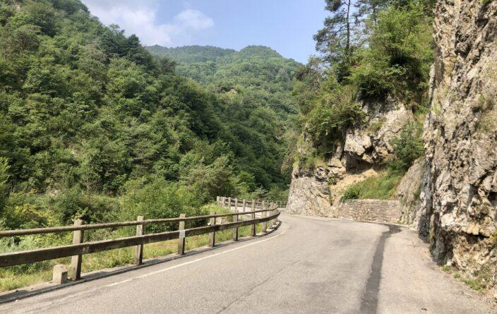 Anfahrt zum Monte Stino