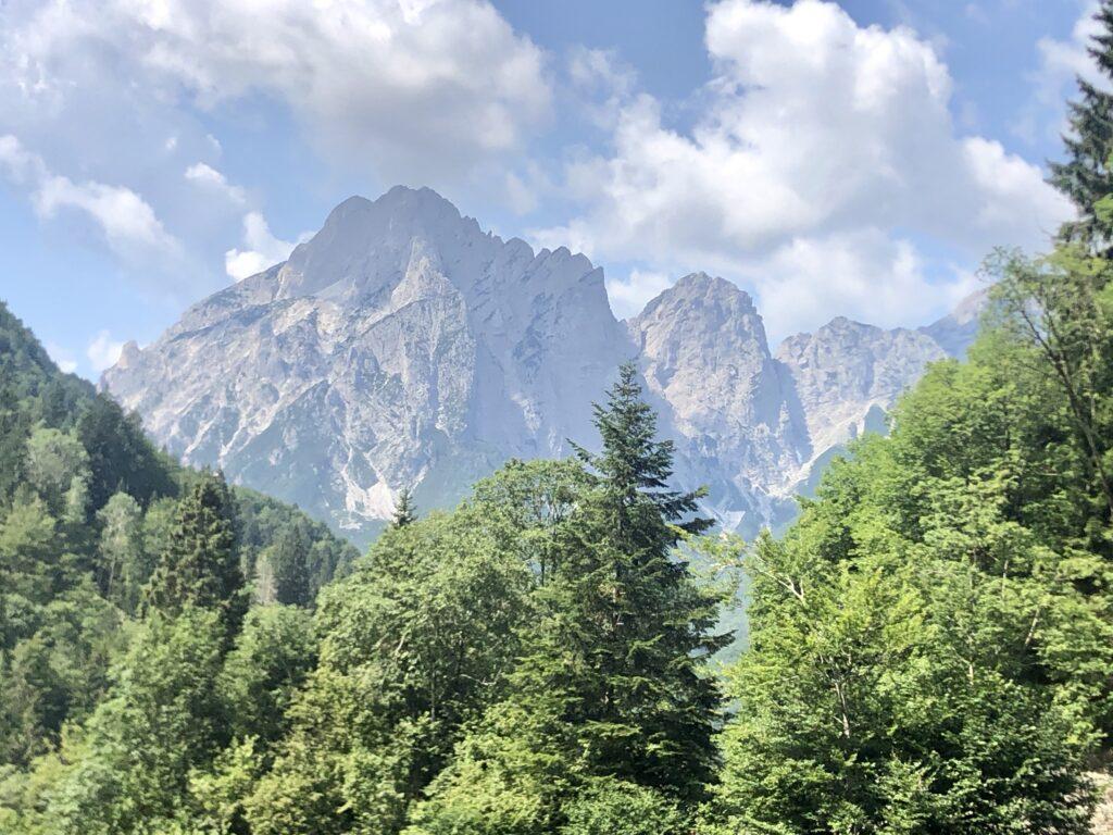 Aussicht nach dem Pass Sella di Cereschiatis