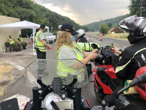 CovidPass-Kontrolle an der Grenze zur Slowakei