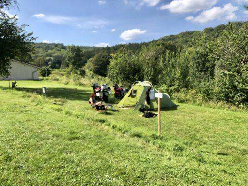 Das ist doch mal eine Zeltwiese (Camping la croix du bois sacker)