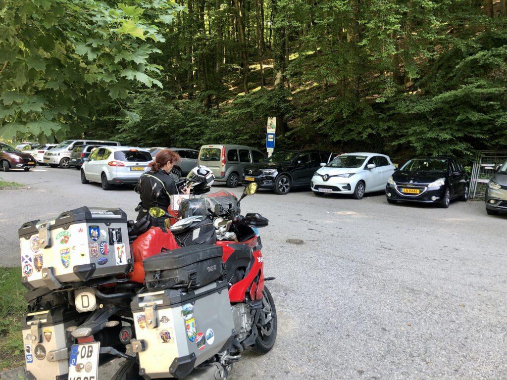 1. Ziel in Luxemburg: Schiessentümpel