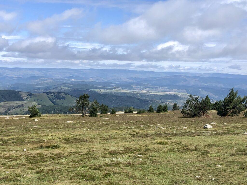 Nördlicher Ausblick vom Mont Aigoual