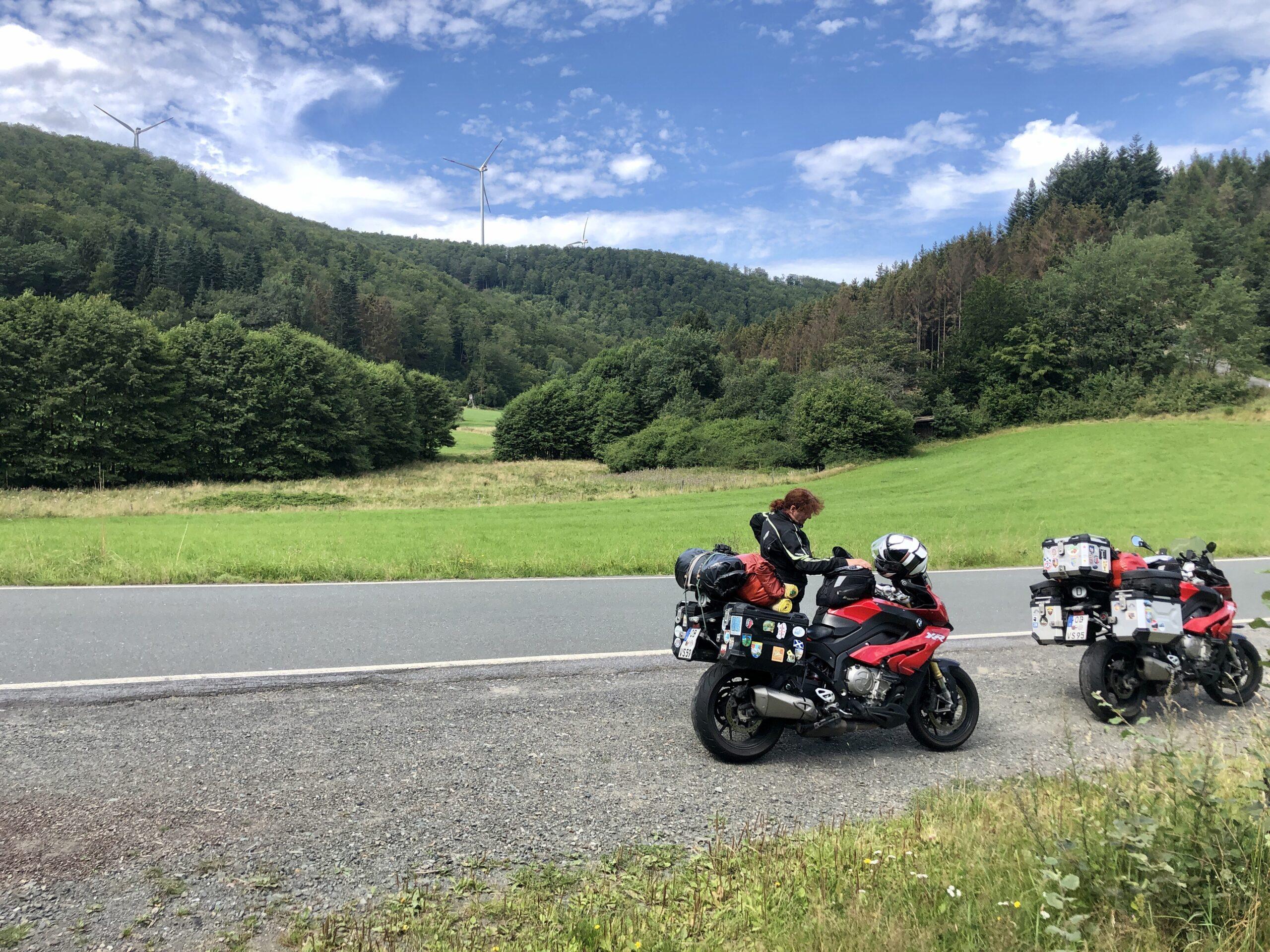 Pause nahe Bad Laasph im Rothaargebirge