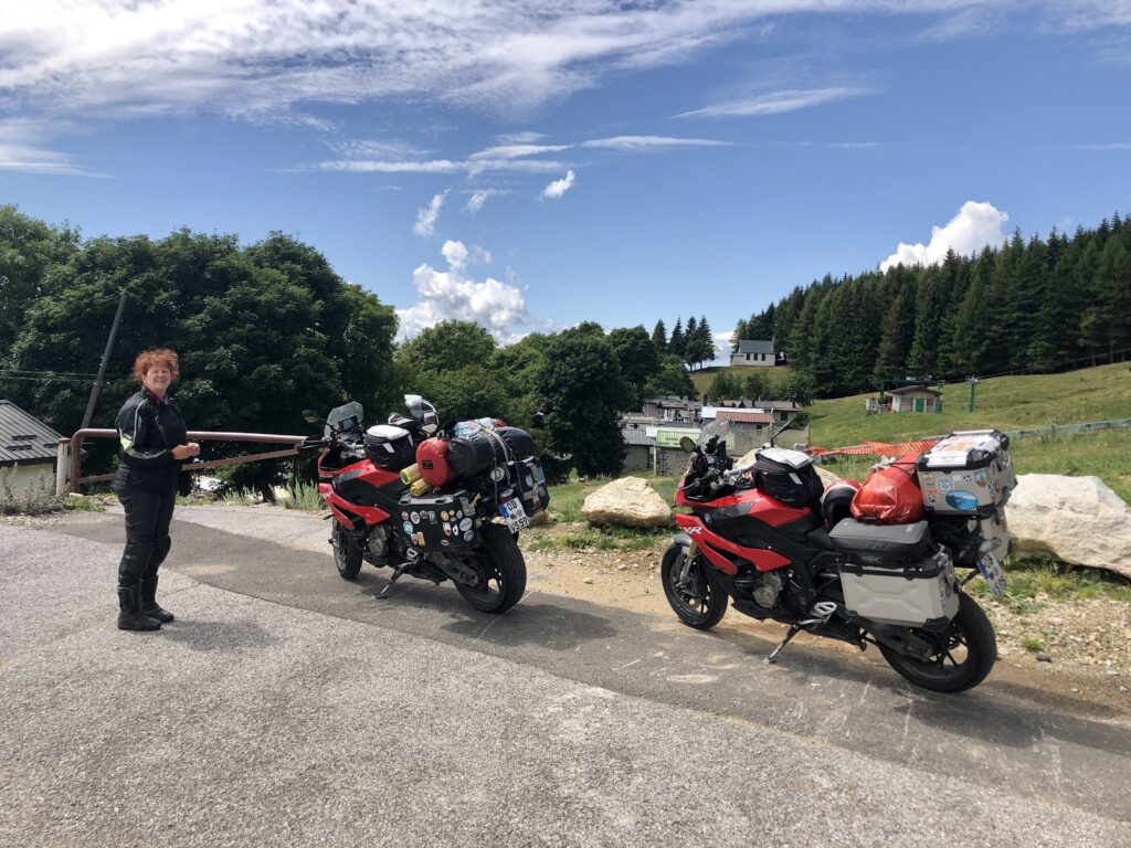 Unser erster Zielpunkt: Alpe Giumello