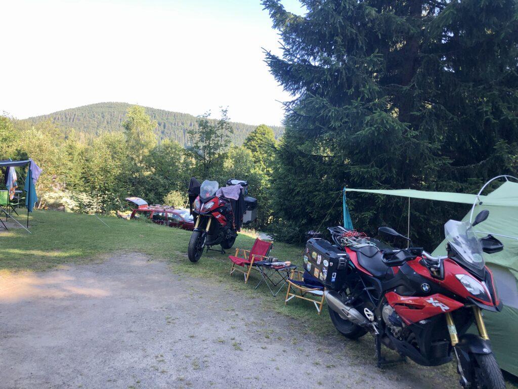 Camping Hochschwarzwald nahe Todtnau