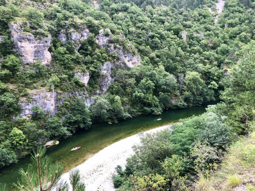 Aussicht bei Laval-du-Tarn