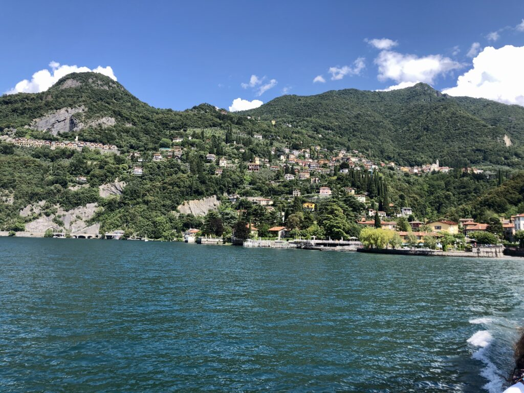 Fähre über den Lago di Como