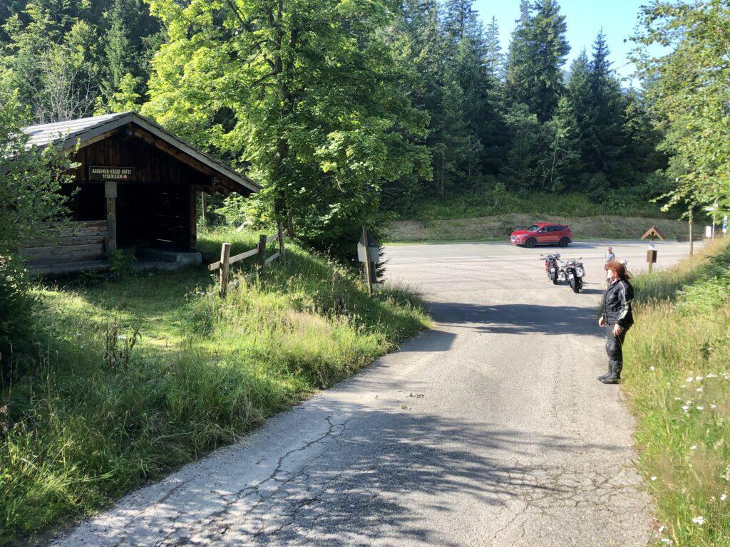 1. Halt: Aeulemer Kreuz Pass